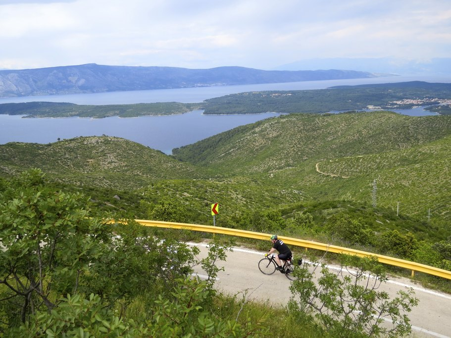 Cycling the hills of Croatia
