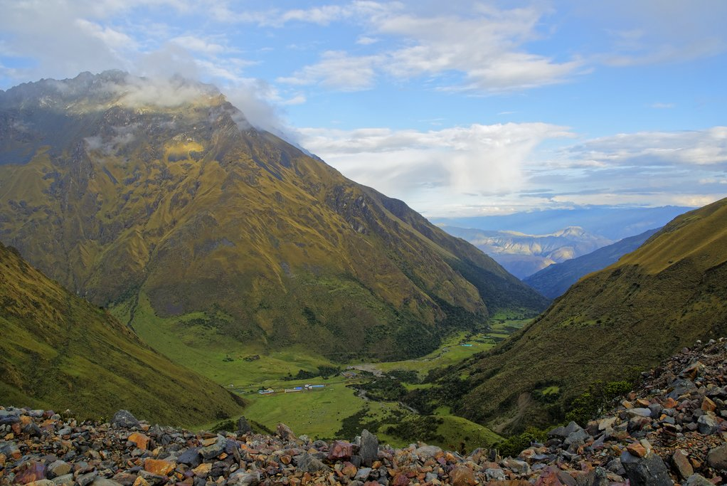 Trekking in the Salkantay region