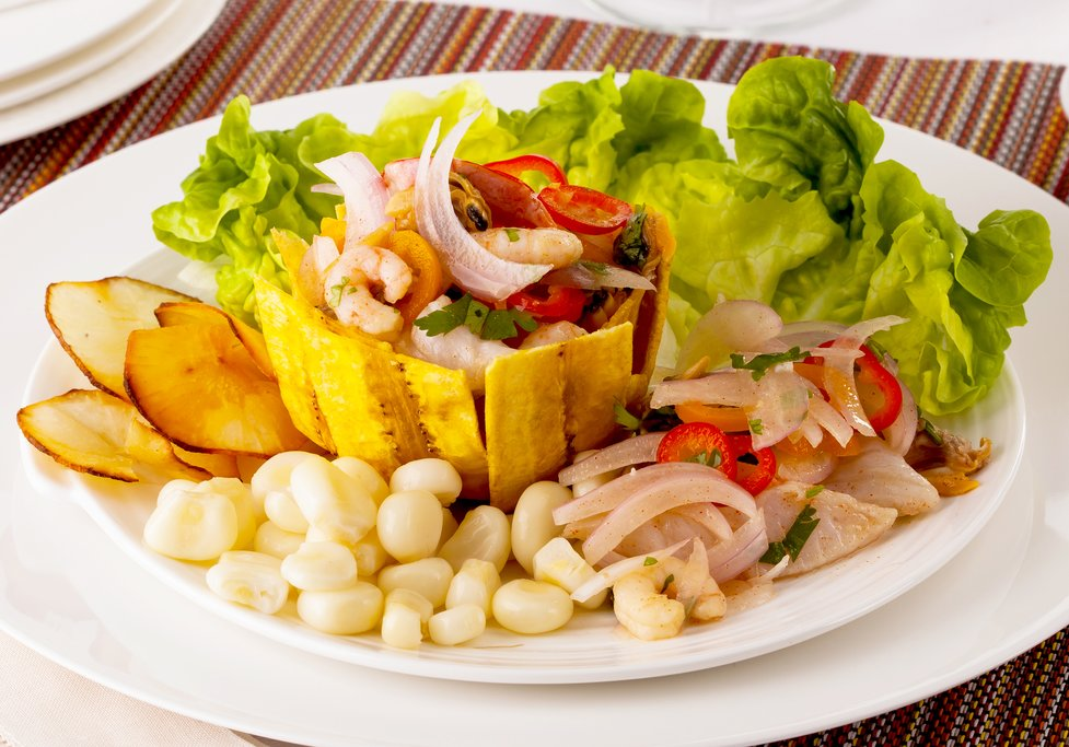 Ceviche, the signature dish of the Peruvian coast