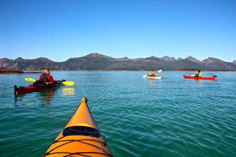 Explore Senja via kayak