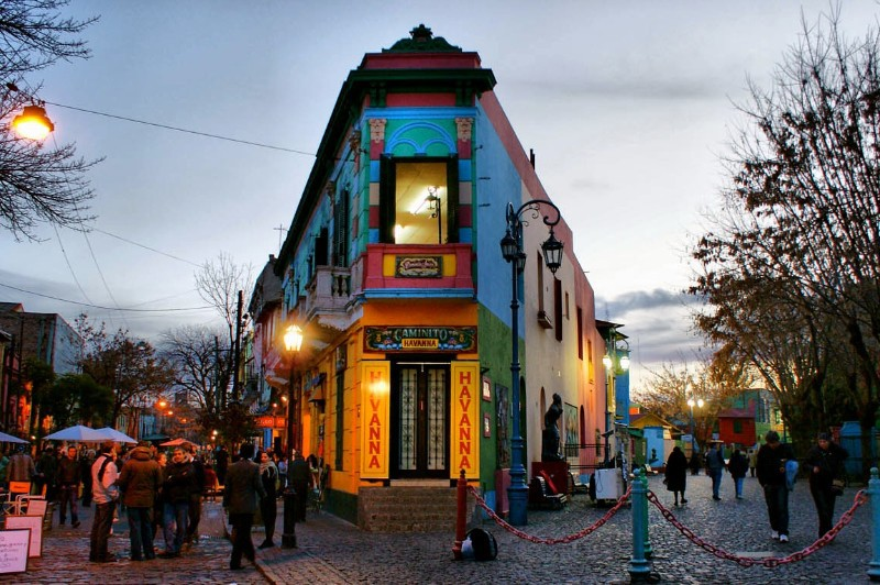 The cobblestone streets of Palermo Soho are lined with cafes and boutique shops.