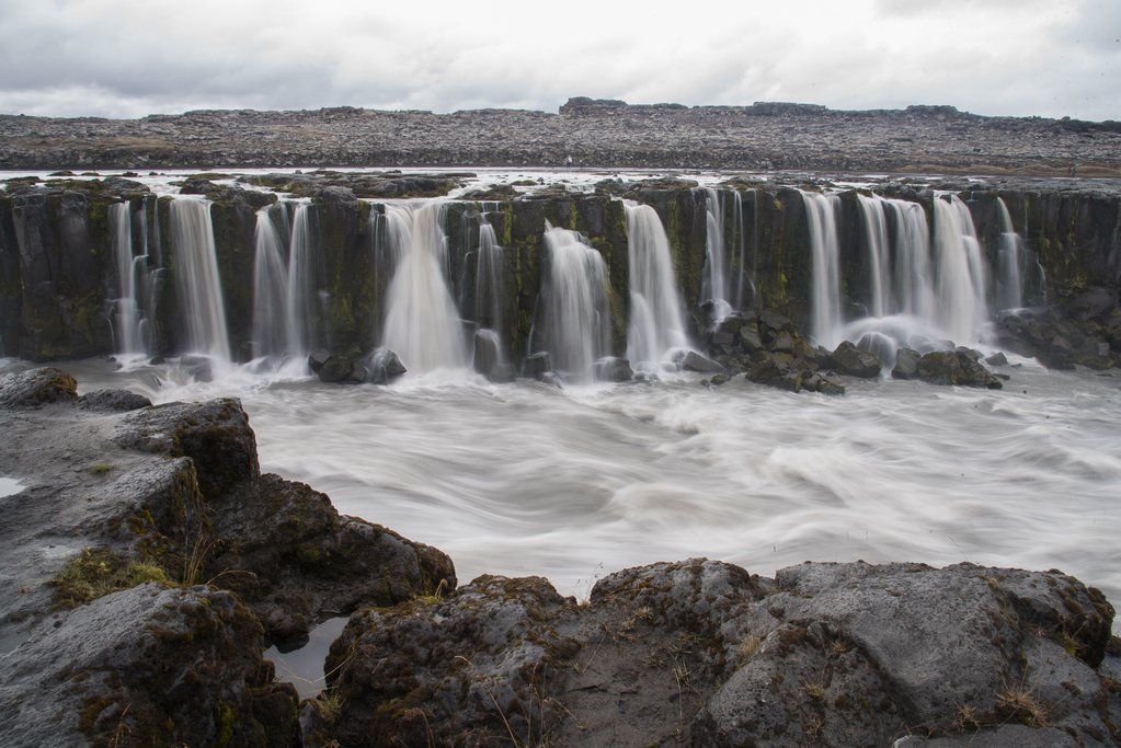 Selfoss Waterfall in northern Iceland (photo by Chris McCarty)
