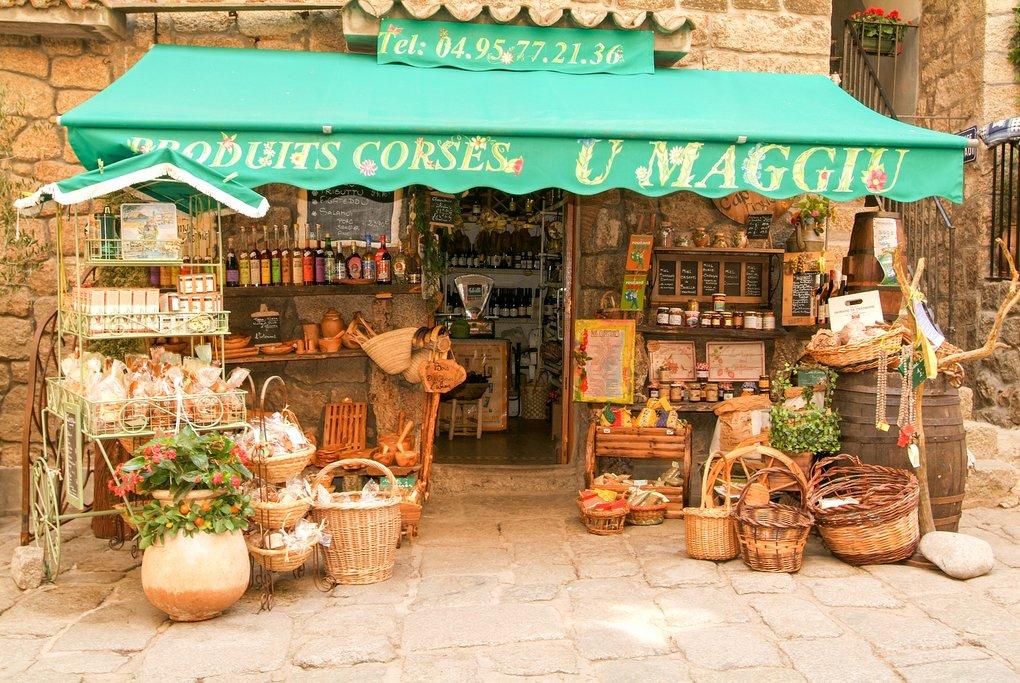 Market in Sartène