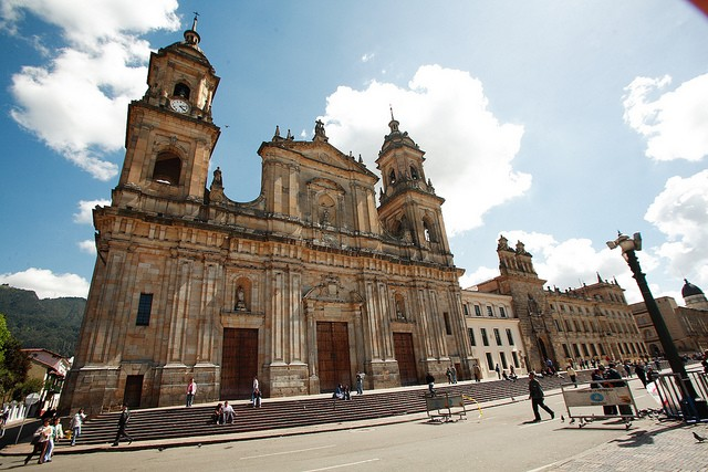 Catedral Primada in Bogotá is a great place to start a city tour.