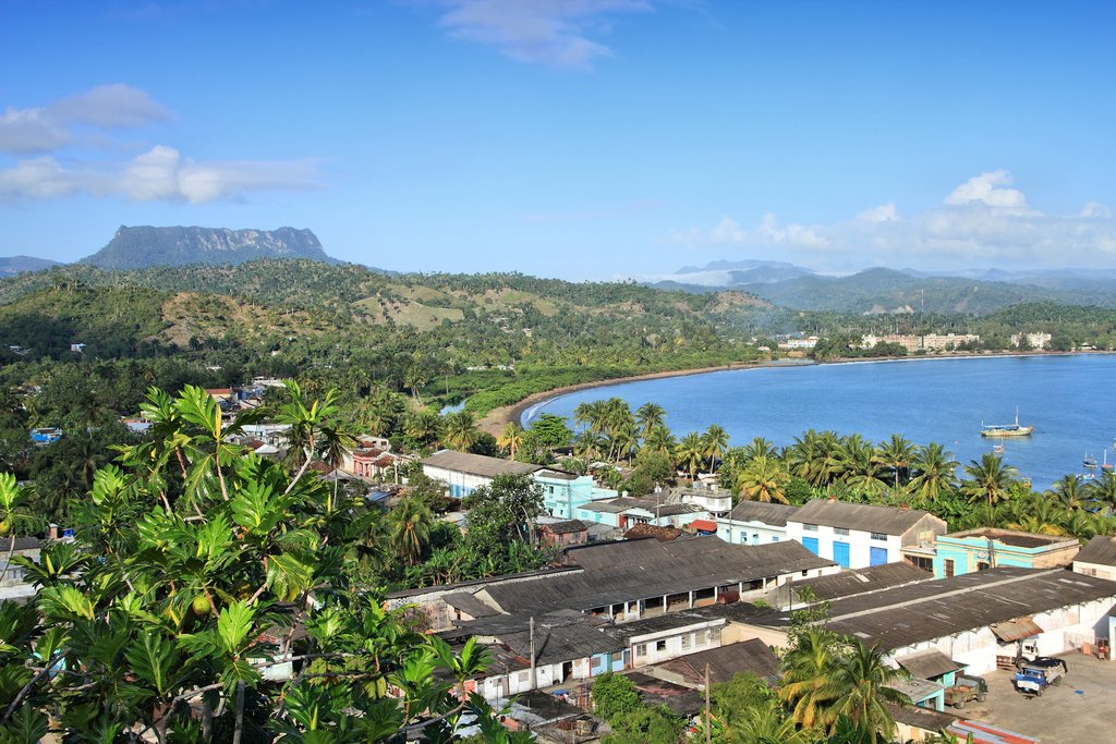 Baracoa, with El Yunque behind