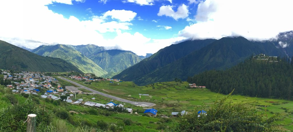 Simikot- the district capital of Humla