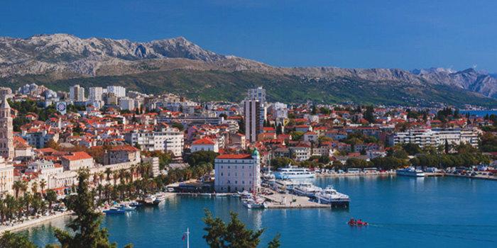 The UNESCO World Heritage site of Split