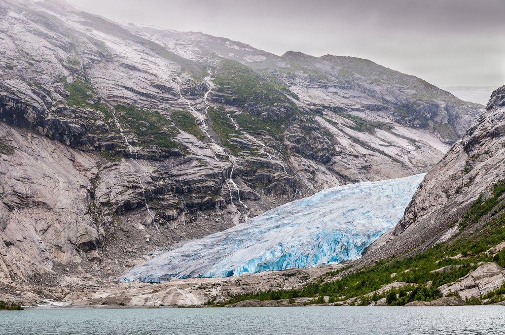 Jordalsbreen glacier