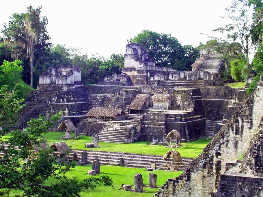 The ruins at Copan, Honduras