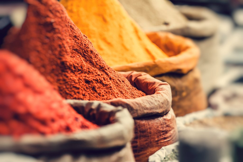 Indian spice market