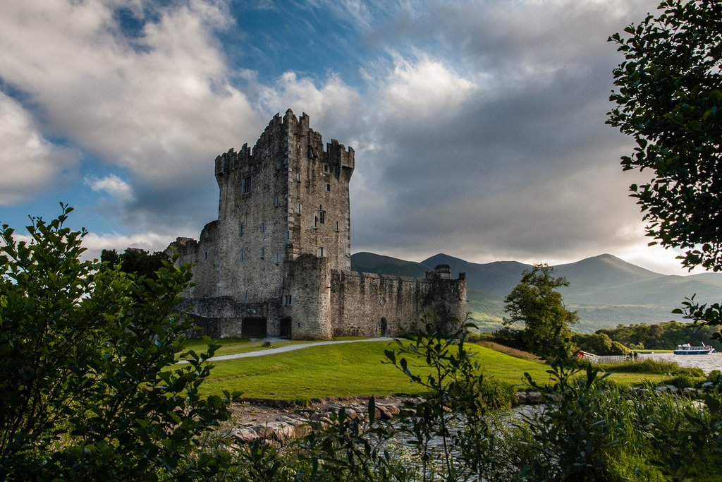 Ross Castle, Lough Leane, Killarney, Ireland