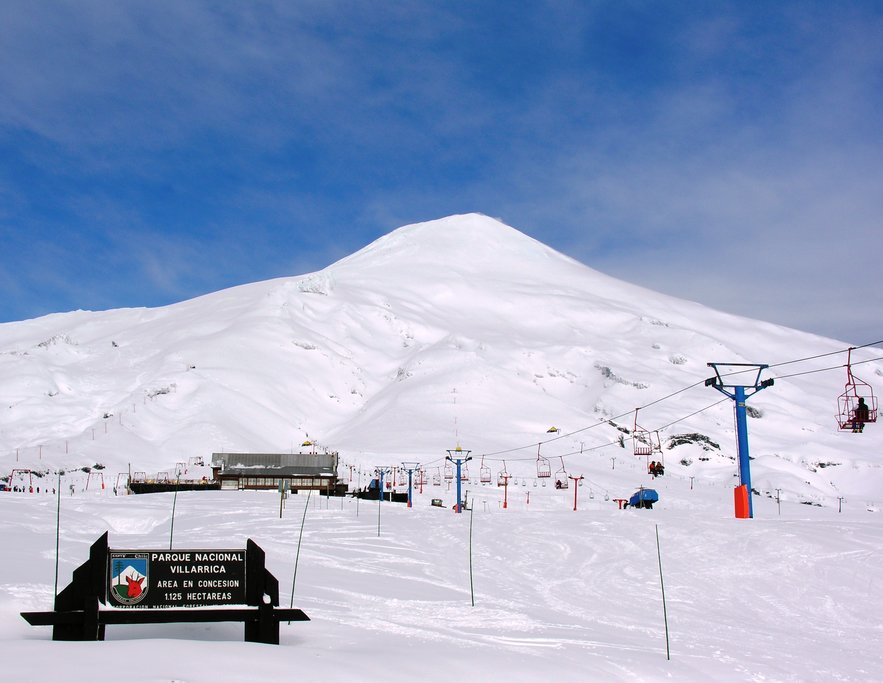 Villarrica is one of Chile's most active volcanoes