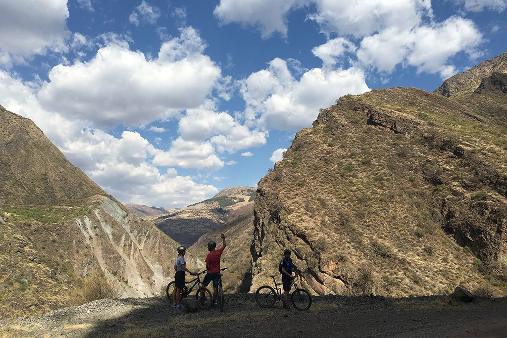 Inca Legends Bike Ride