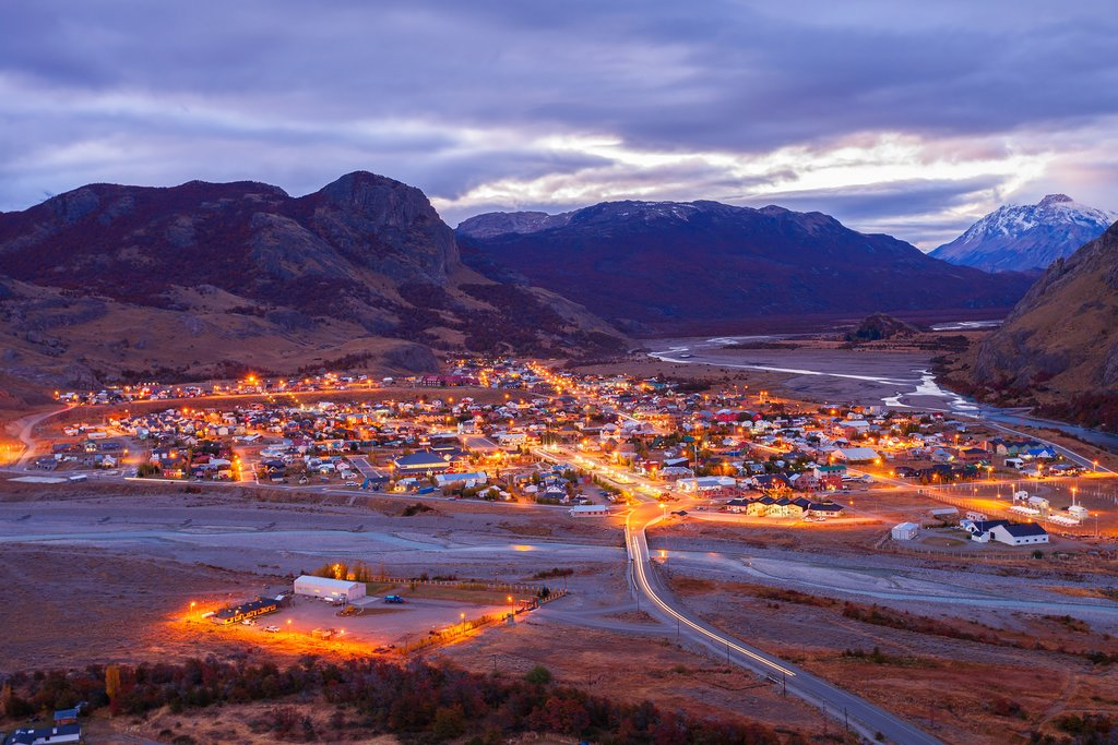 El Chaltén at night