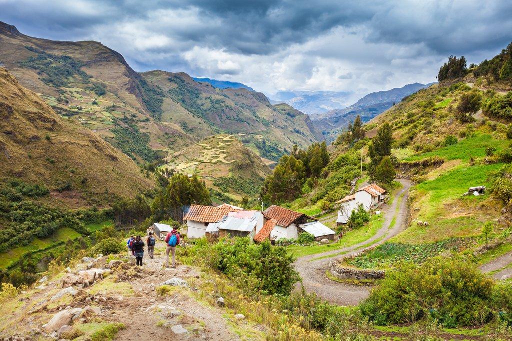 Valle Santa Cruz, Peru