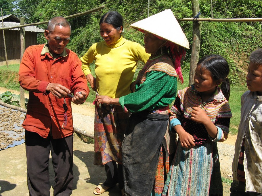 Local villagers