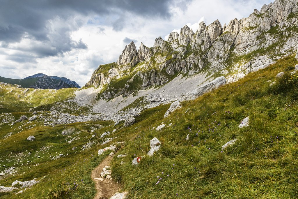 Trail in Durmitor National Park