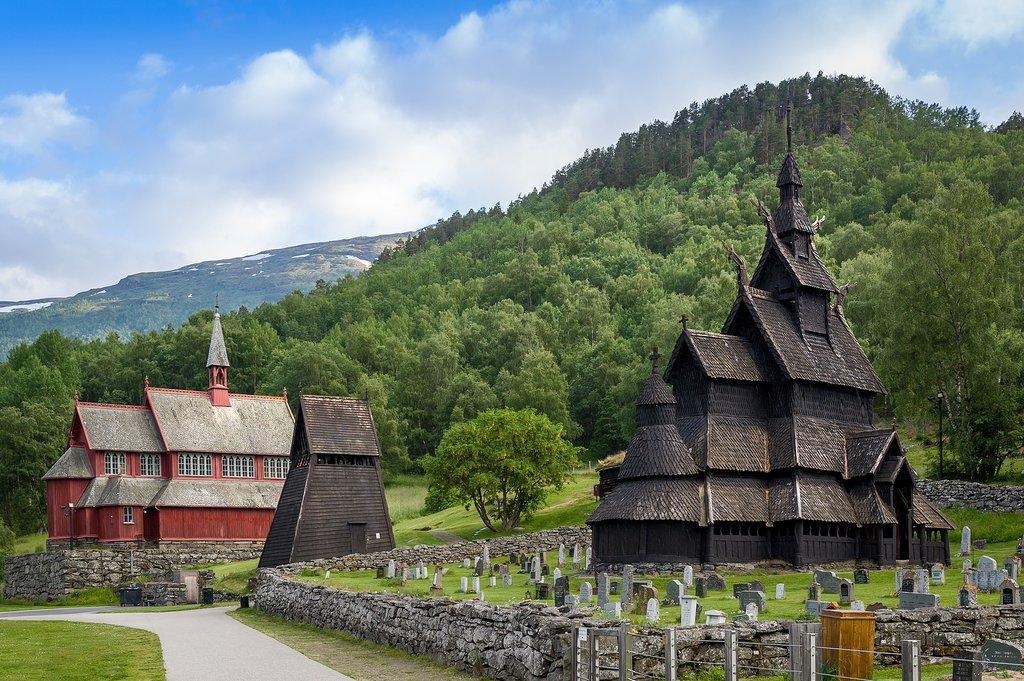 Borgund Stave Church, Laerdal, Norway