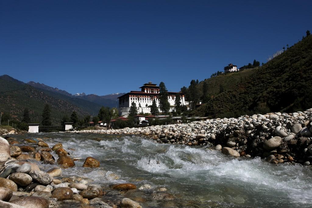 Monastery near Paro