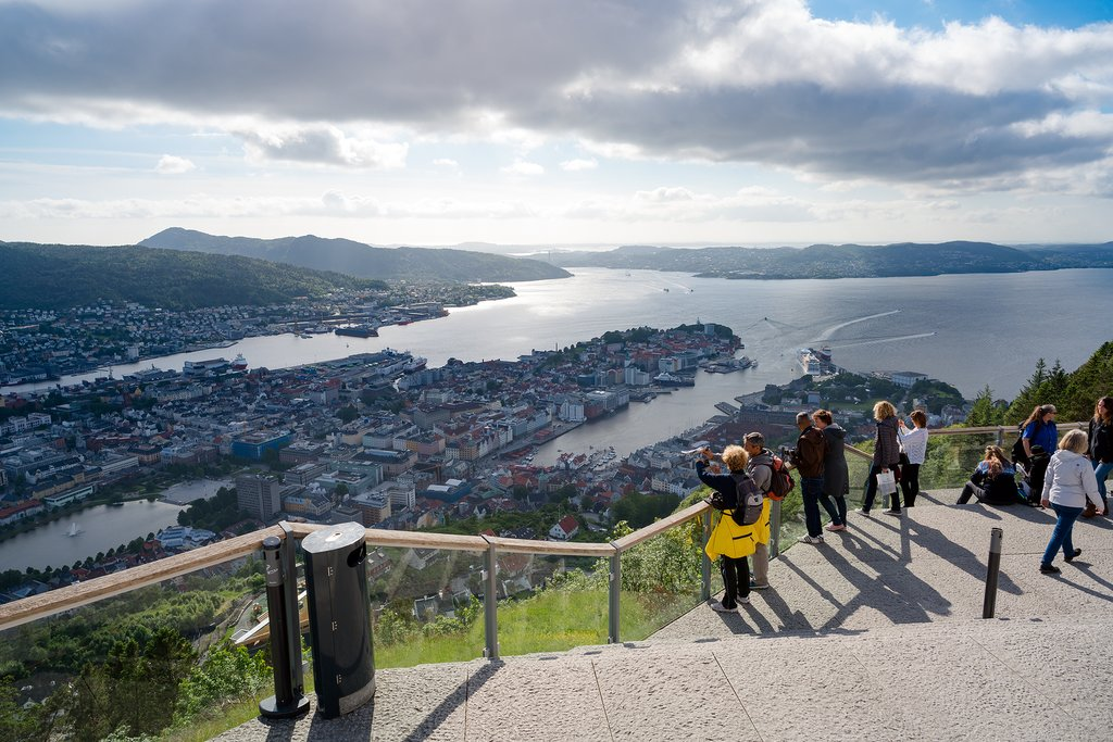 Take a walk up the hillside for panoramic views.