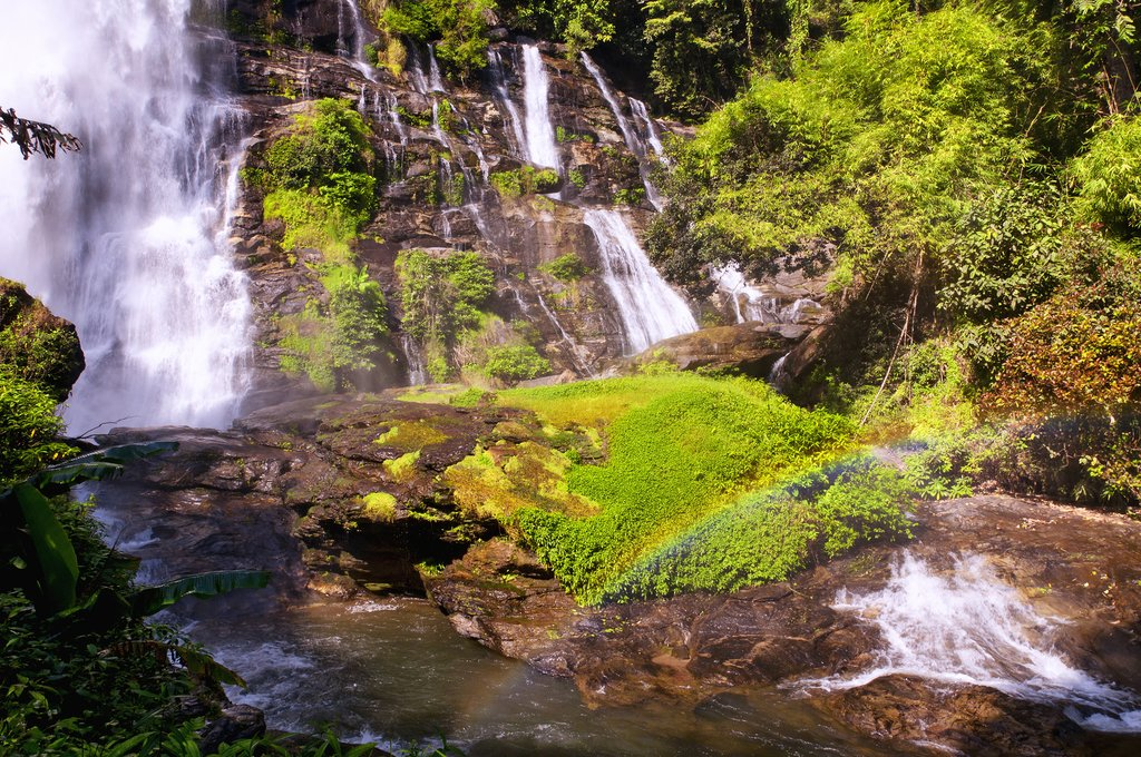 Explore the beautiful waterfalls of Doi Inthanon