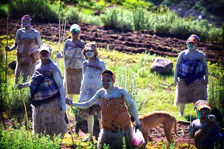 The Basotho people