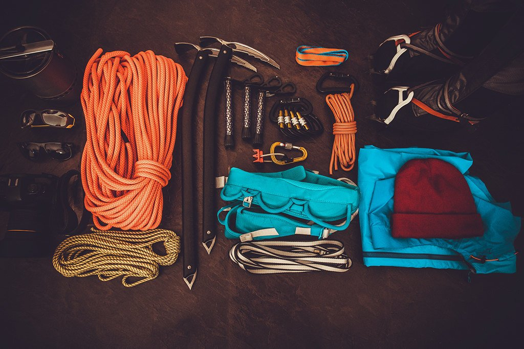 Technical climbing gear