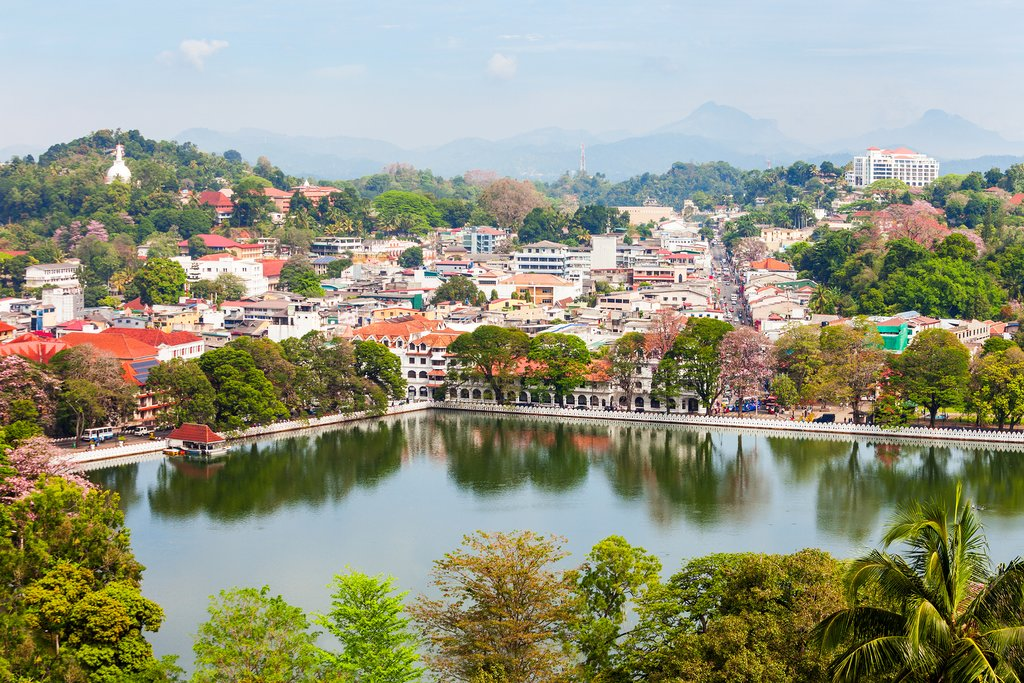 Beautiful town of Kandy
