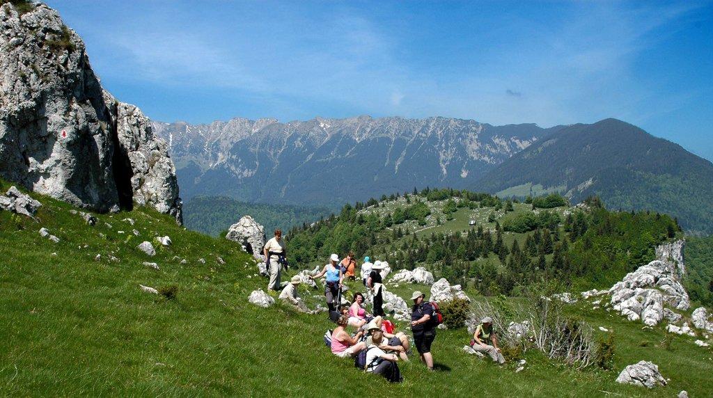 Hiking in the Piatra Craiului Mountains