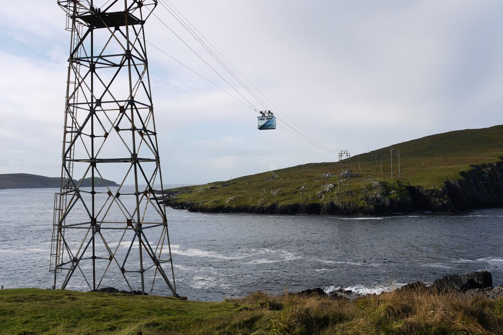Cable car to Dursey Island
