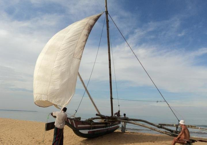 A Dhow in Negombo