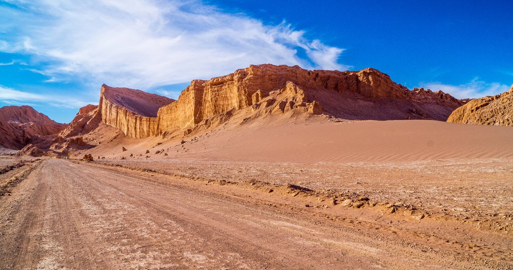 Clear skies over the Atacama