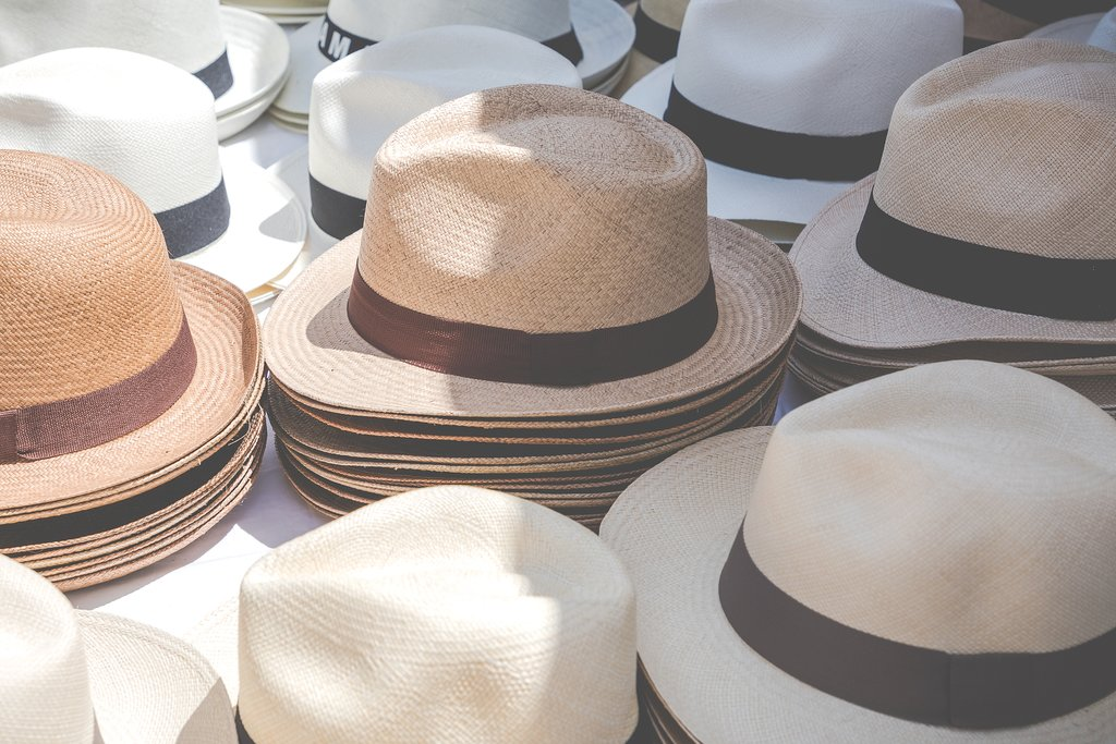 Panama hats aren't from Panama — they're from Ecuador