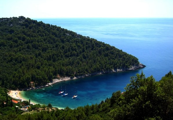 Southern coast of Korčula
