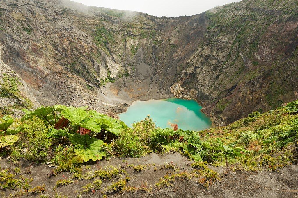 Irazu Volcano - Diego de la Haya Crater
