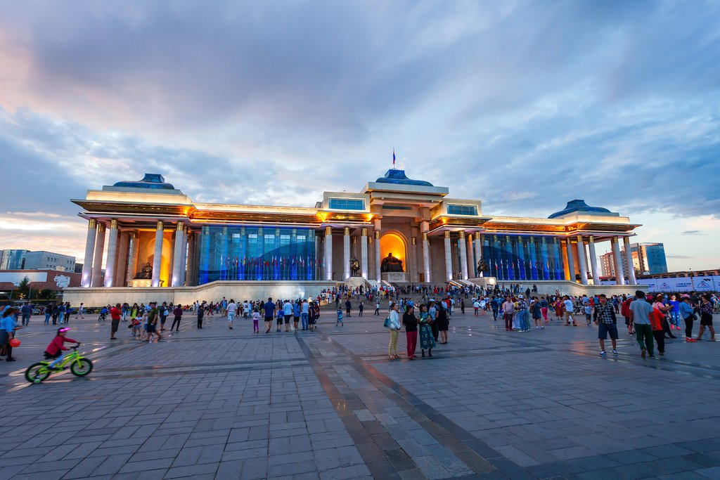 Ulaanbaatar, Mongolia's capital city