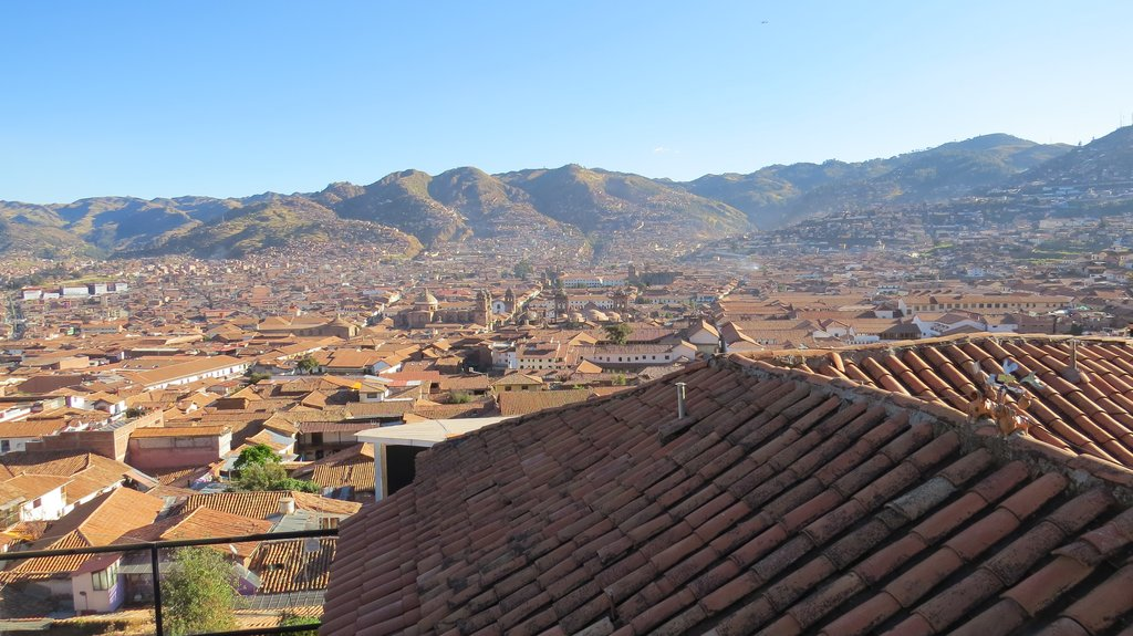 The Andes beckon invitingly beyond Cusco, tempting the traveler to explore them