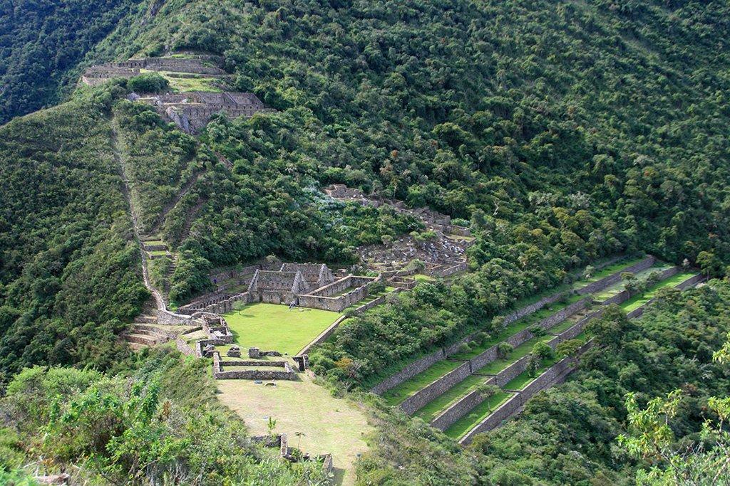 Choquequirao's main complex