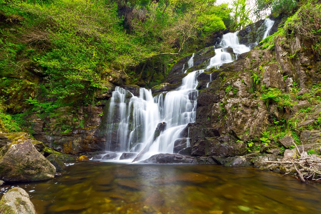 Torc Waterfall, Killarney National Park, Ireland