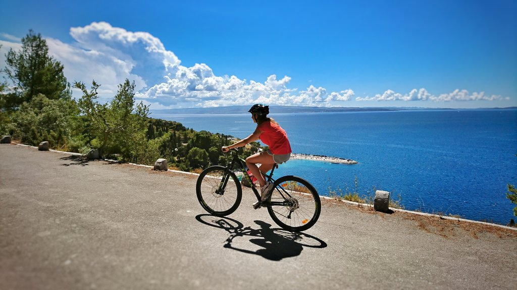 Cycling the Croatian coast