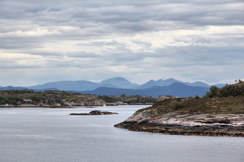Norway - Tustna island landscape. More og Romsdal county.