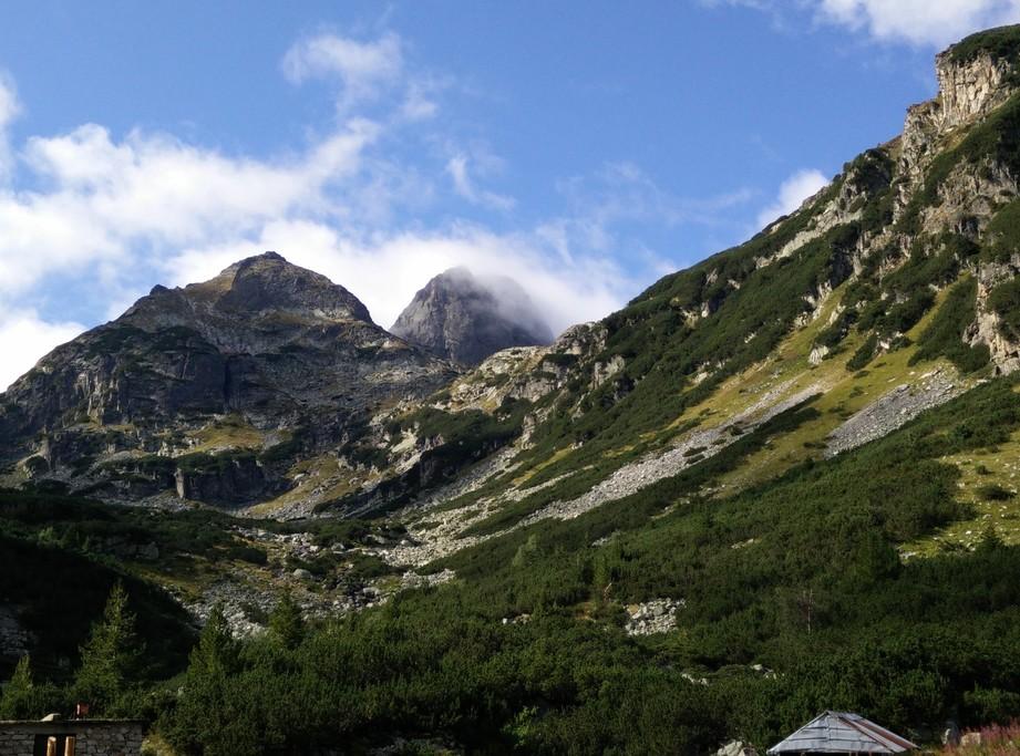 The steep and craggy Mt. Malyovitsa