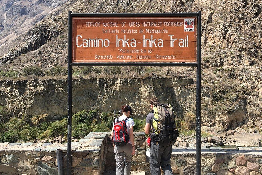 Inca Trail trailhead
