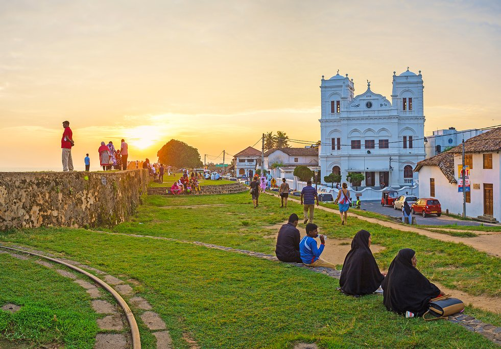 Medieval rampart of Galle, Sri Lanka