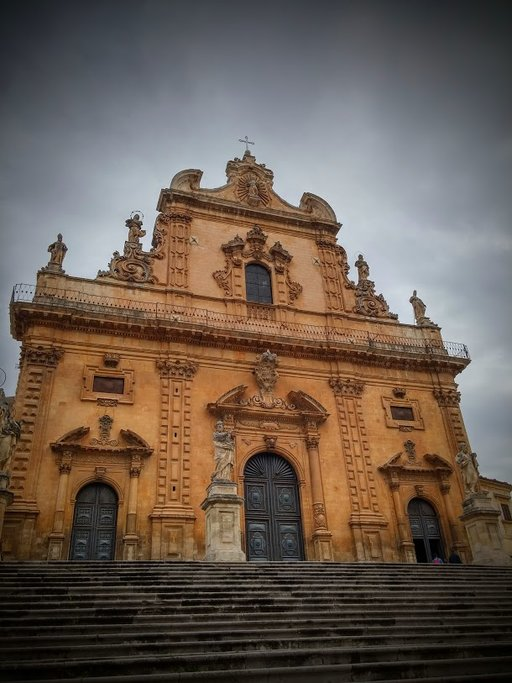 St Peter Church in Modica