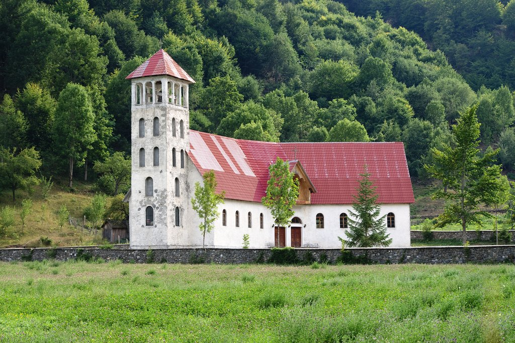 Church in Vermosh, Albania