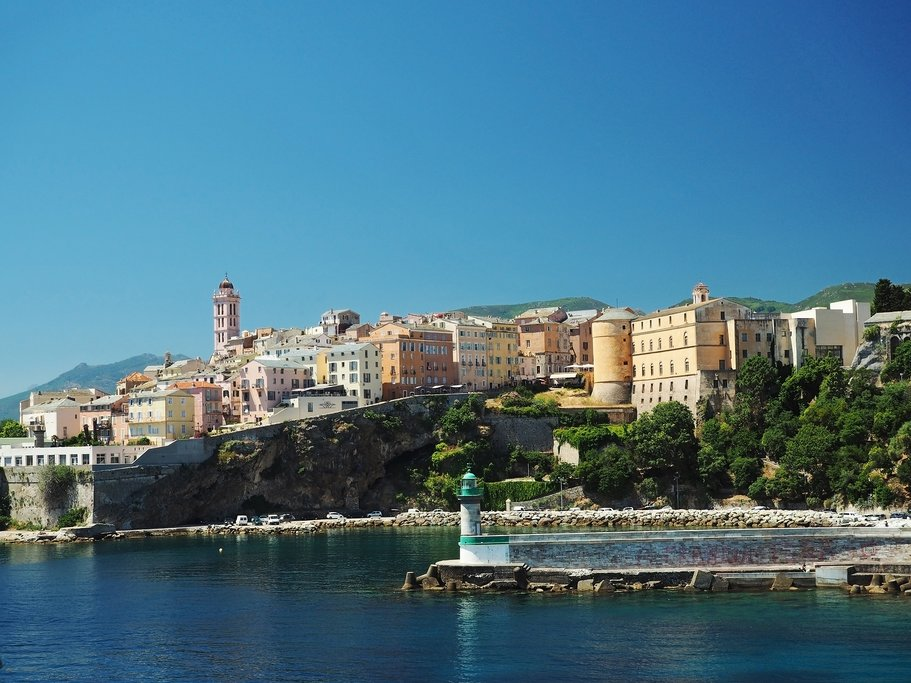 The town of Bastia