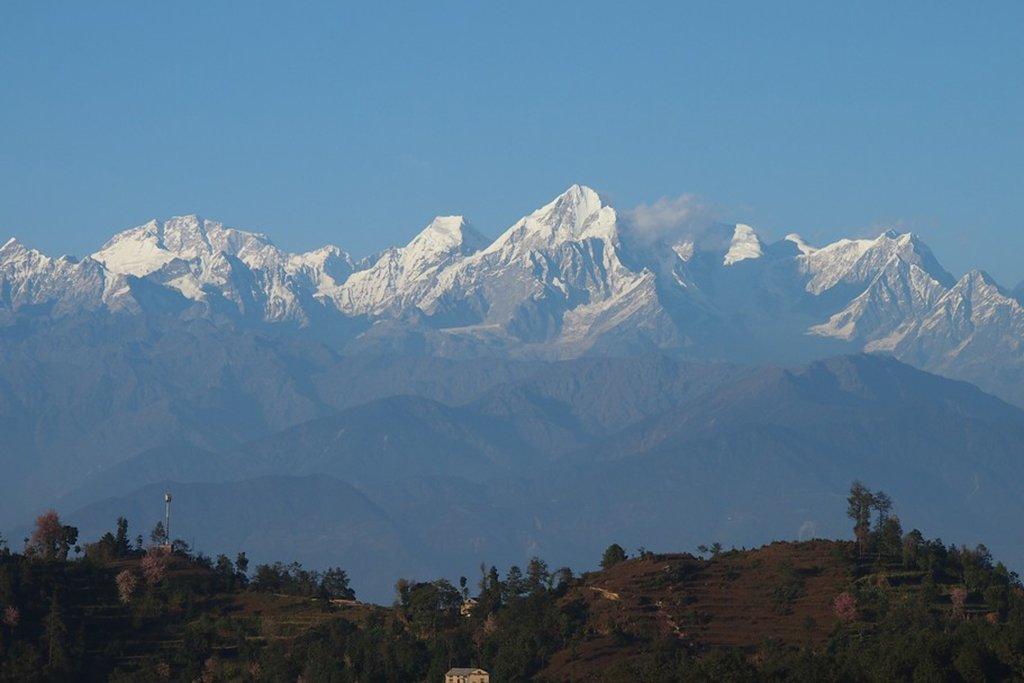 View from Namo Buddha