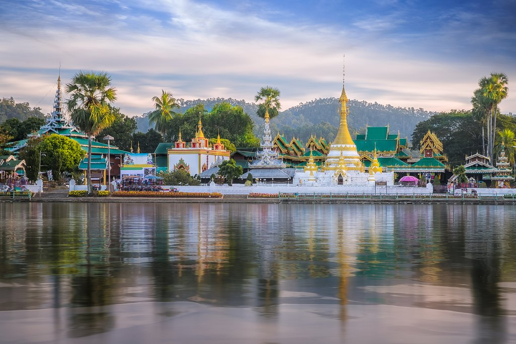 Temple in Mae Hong Son