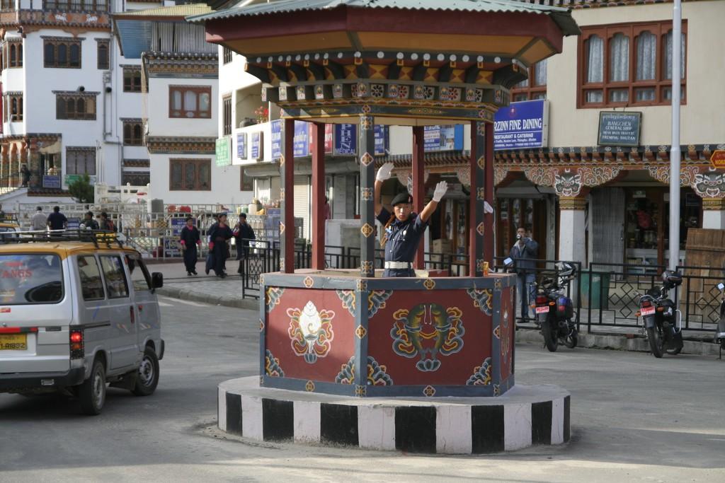 """Bhutanese """"stoplight"""""""